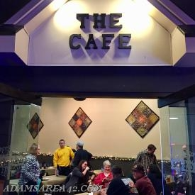 The BOD was able to reserve a private room in 'The Cafe' for the event!